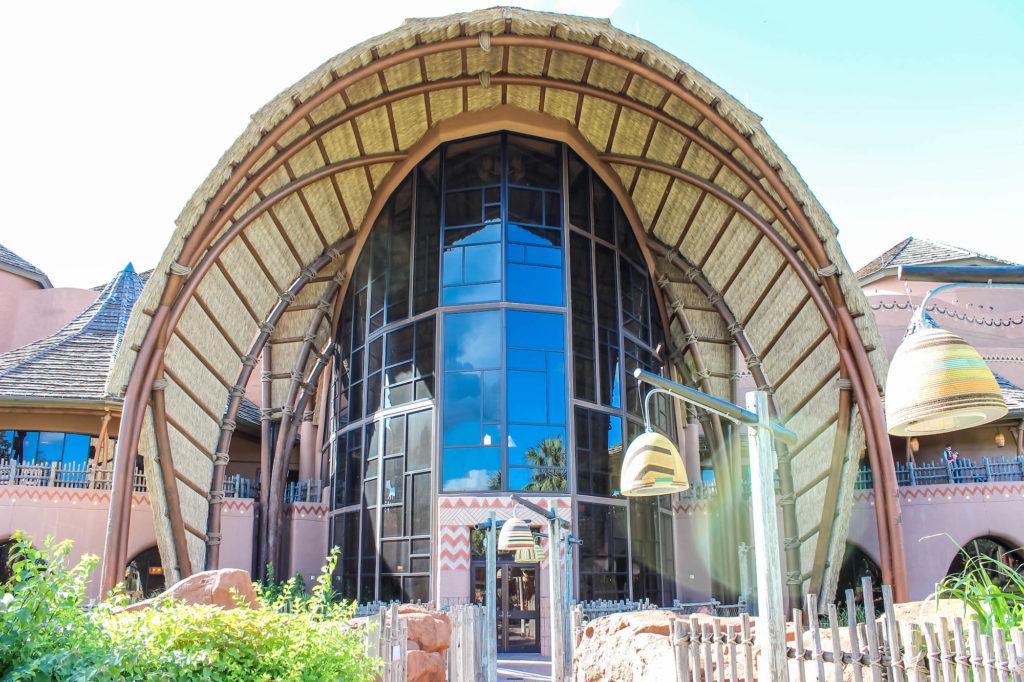Disney DVC Animal Kingdom Villas Entrance