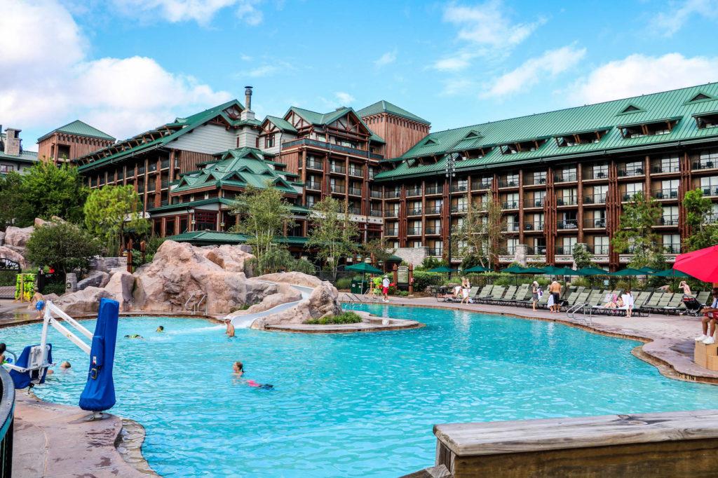Disney DVC Boulder Ridge Villas view of pool